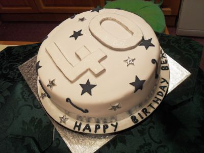 40th Birthday Cakes On Mens Serving Alfreton Derbyshire And Nottinghamshire